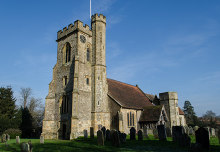St Mary's Church, Leigh, Kent. Click photo for Church Services